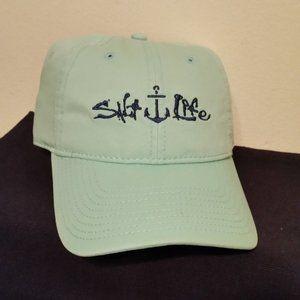 Salt Life NWT light blue hat anchor